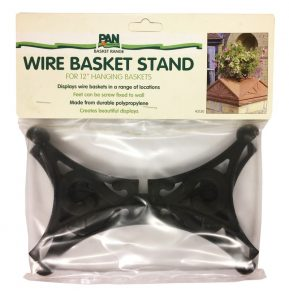"""Pan Wire Basket Stand 12"""""""