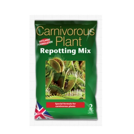 Growth Technology Carnivorous Plant Repotting Mix Bag - 2 Litres