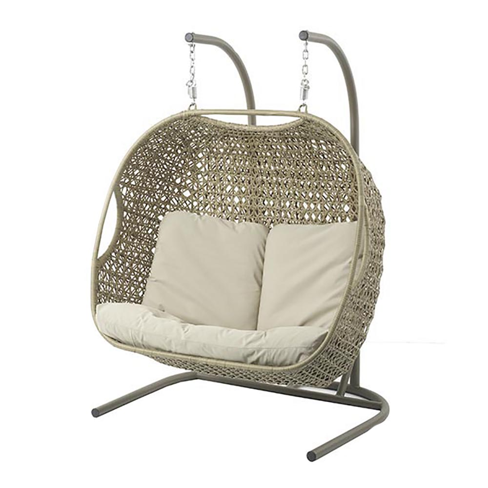 Robin - Double Cocoon including Season-Proof New Fawn Cushions