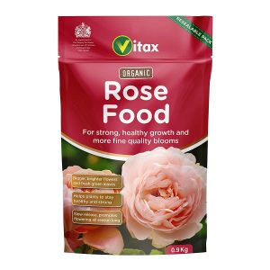 Vitax Organic Rose Food Pouch - 0.9Kg