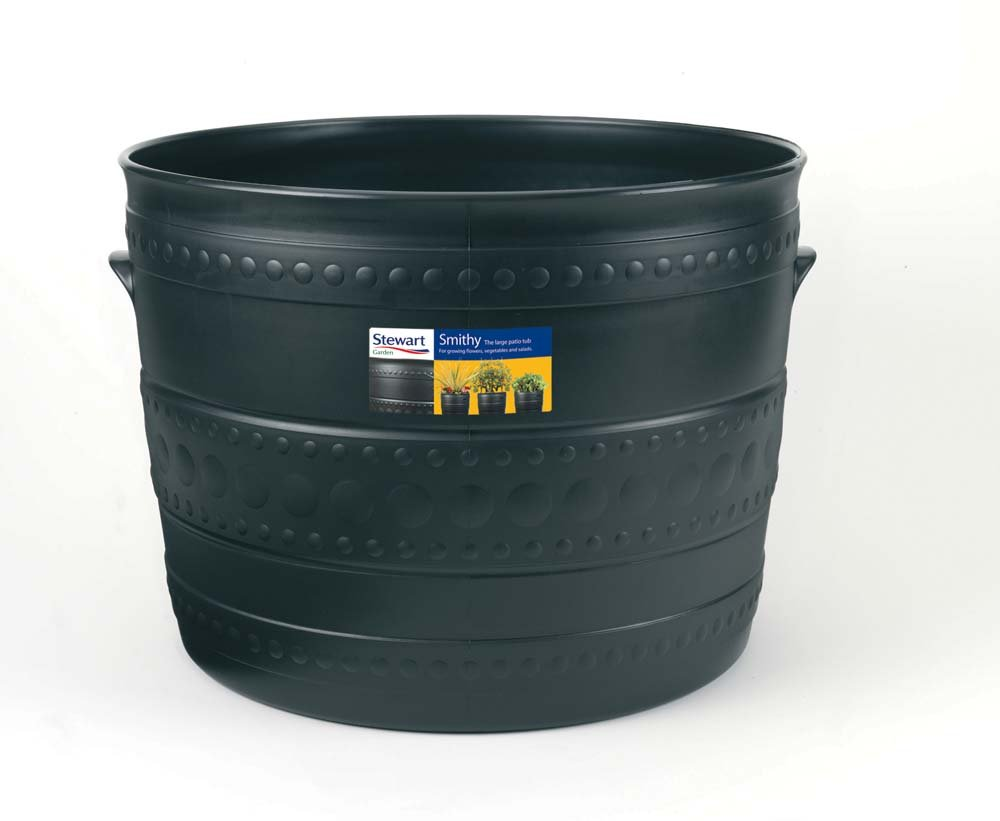 Stewart 35cm Patio Tub - Gun Metal