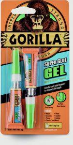 Gorilla Super Glue Gel 2x3g