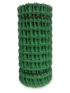 Netlon Plastic Netting 20m x 0.5m x 50mm - Green