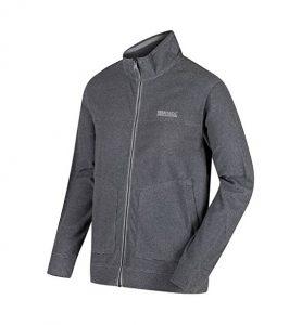 Regatta Mens Ultar III Fleece Jacket - Light Steel - XXXL