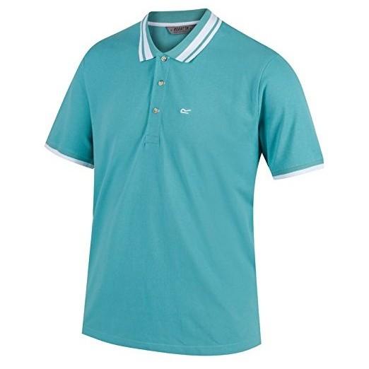 Regatta Mens Talcott Polo Shirt - Jade Green - M