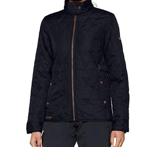 Regatta Ladies Camryn Quilted Jacket - Navy - UK 8