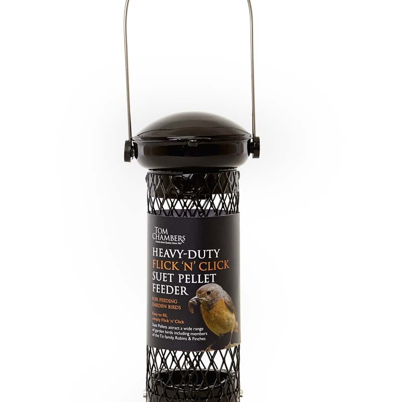 Tom Chambers Heavy Duty Flick N Click Suet Pellet Feeder