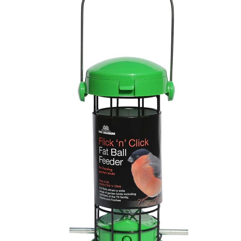 Tom Chambers Flick 'n' Click Fat Ball Feeder