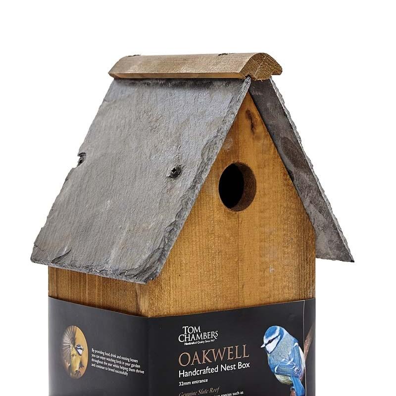 Tom Chambers Oakwell Nest Box - (32mm entrance) - Medium