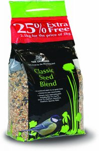 Tom Chambers Classic Seed Blend 2kg + 25%