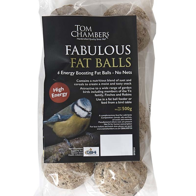 Tom Chambers Fat Balls - 6 Pack - No Nets