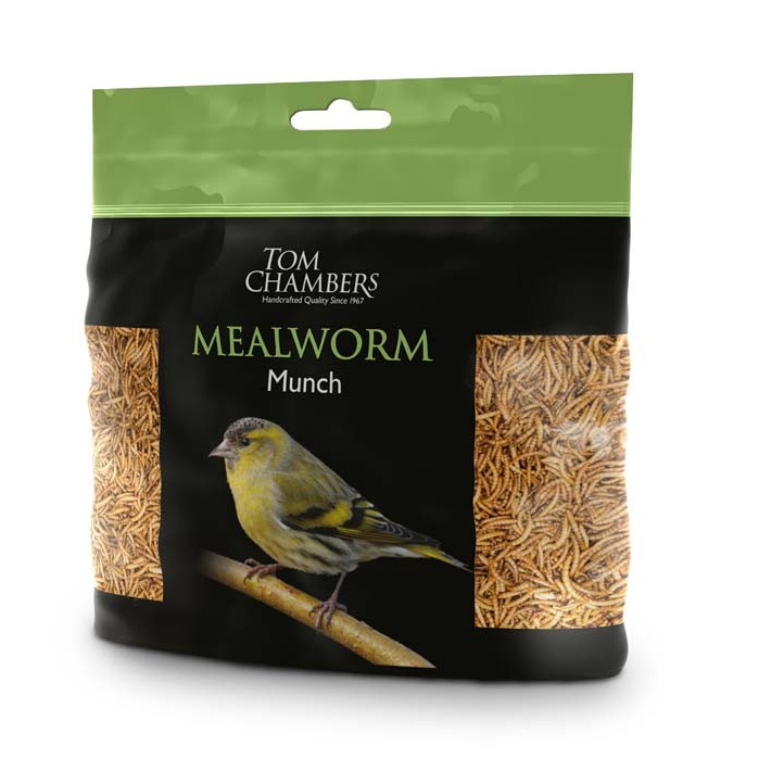 Tom Chambers Mealworm Munch - 100g