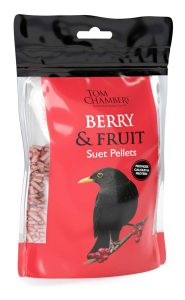Tom Chambers Berry & Fruit Suet Pellets 0.9kg