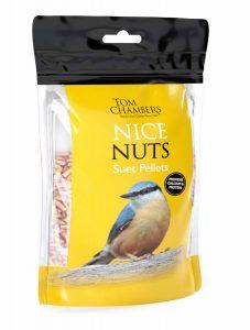 Tom Chambers Nice Nuts Suet Pellets 0.9kg
