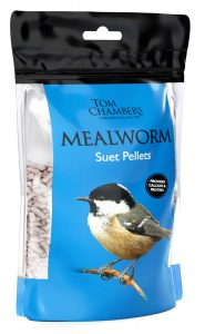 Tom Chambers Mealworm Suet Pellets 0.9kg