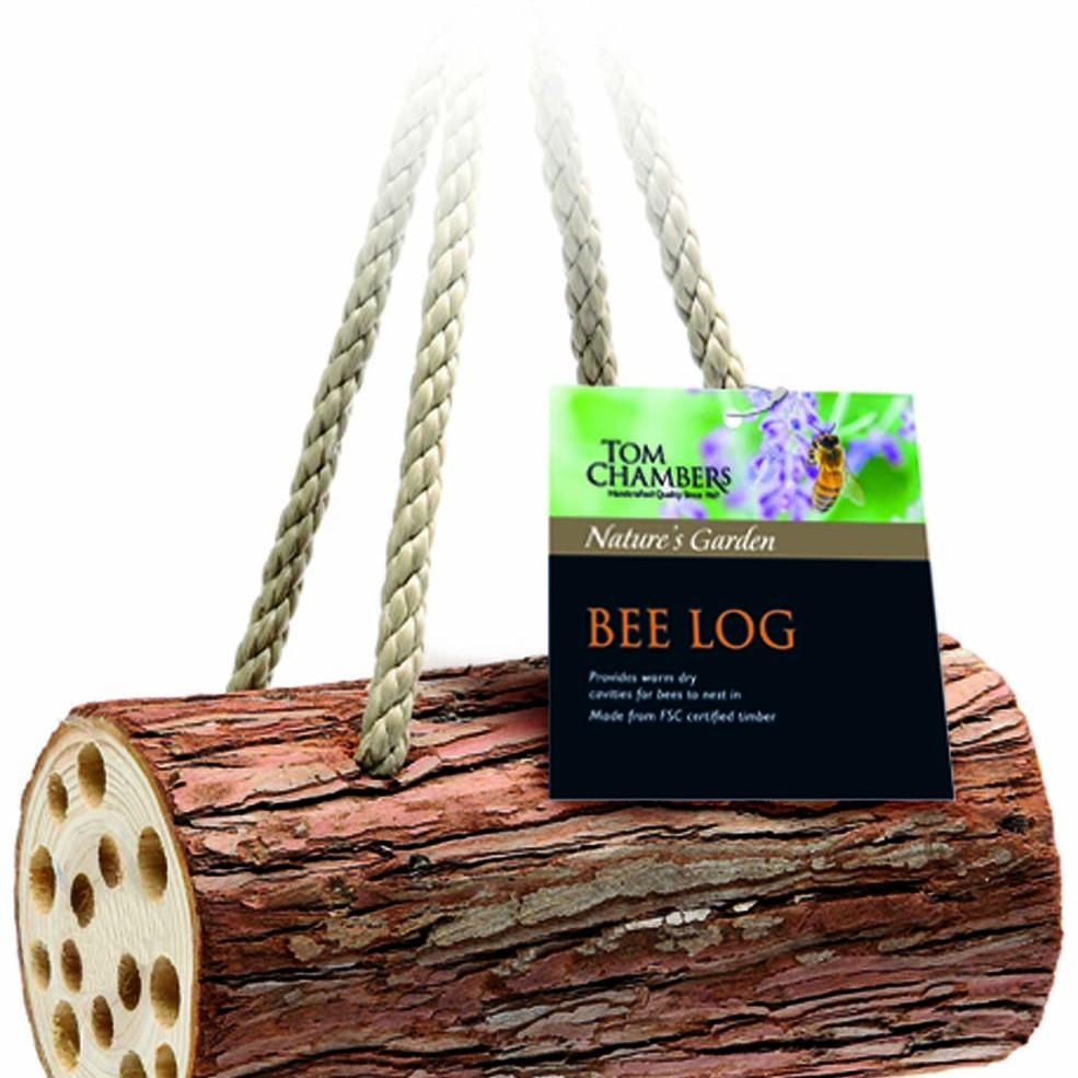 Tom Chambers Bee log