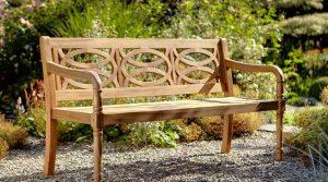 Hartman Cleobury 3 Seater Bench