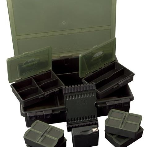 Fox Deluxe System Tackle Box Medium