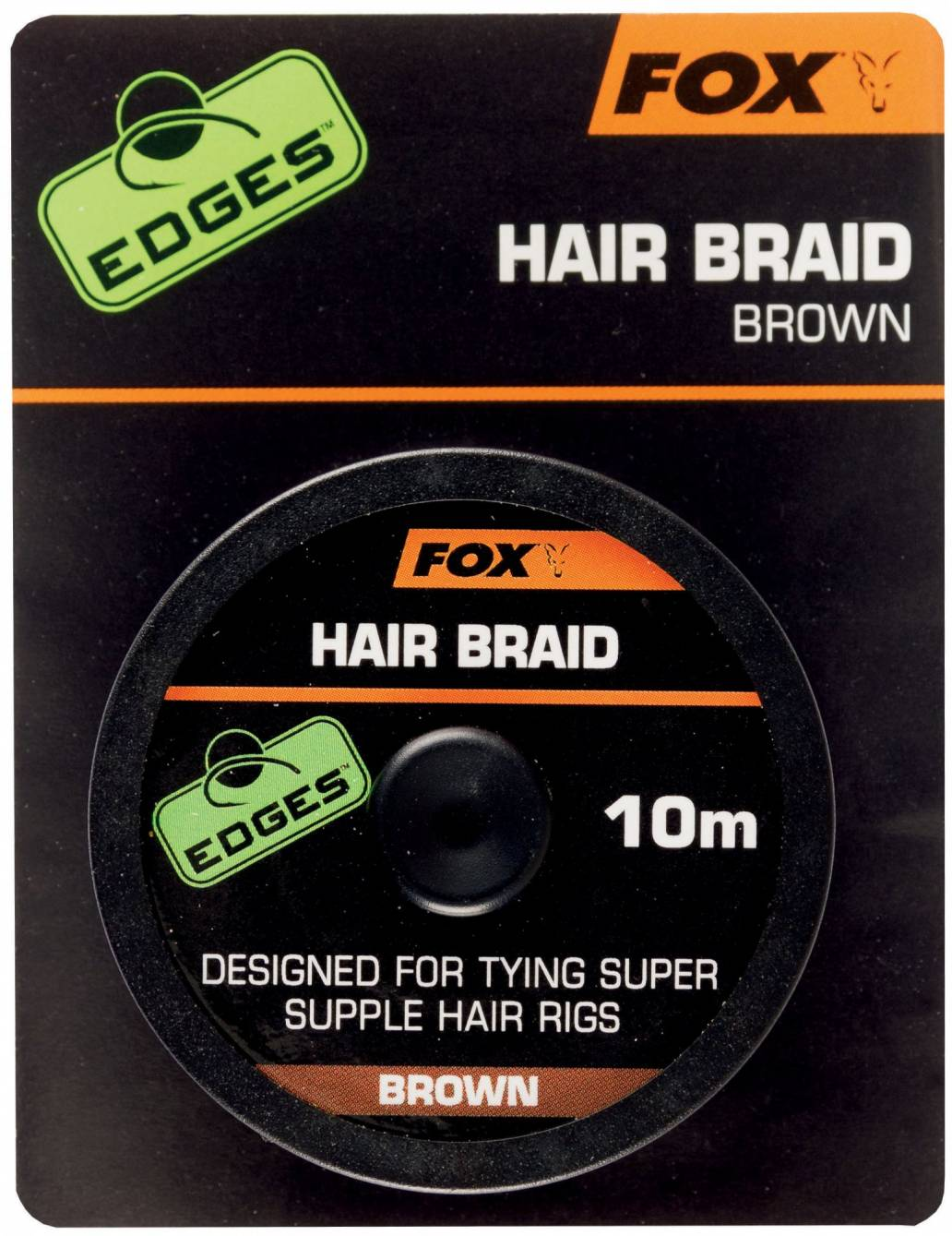 Fox Edges Hair Braid X 10M Brown