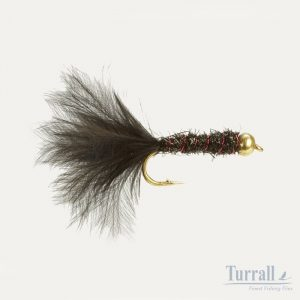 Turrall Damsel Black Bead Head 12