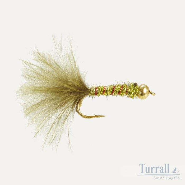 Turrall Damsel Olive Bead Head 12