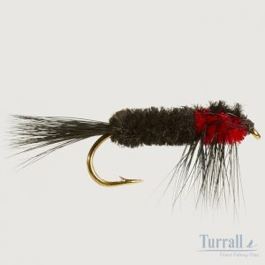Turrall Montana Red Weighted Nymph 10