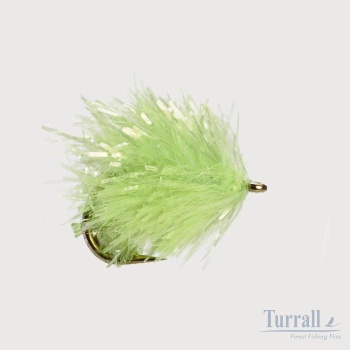 Turrall Chartreuse Blob/ Bung Flies 10