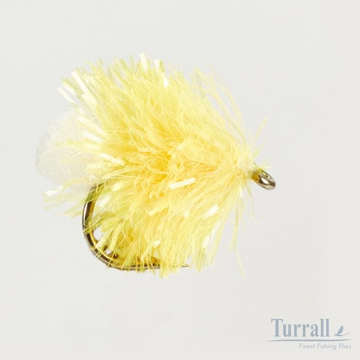 Turrall Sunburst Yellow Blob/Bung Flies 10