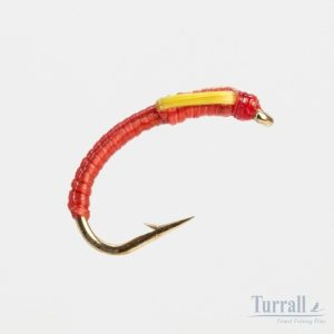 Turrall Fluorescent Red Flex-Epoxy Buzz 12