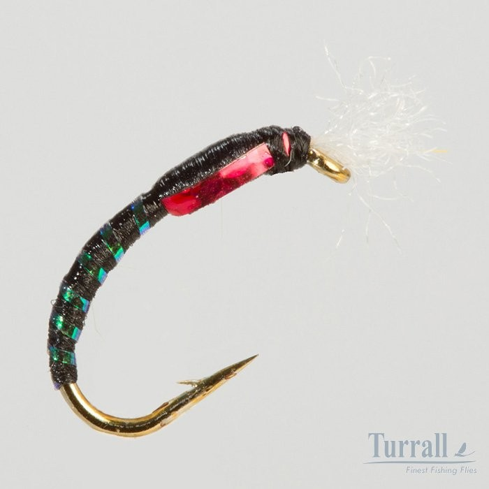 Turrall Black Holographic Buzz 12