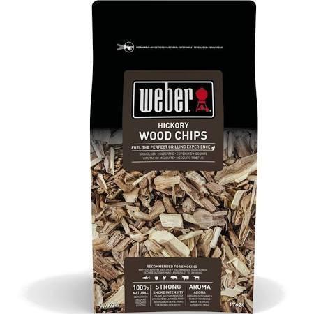 Weber Hickory Wood Chips  0.7kg 17624