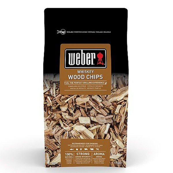 Weber Whisky Wood Chips 0.7kg 17627