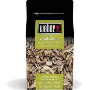 Weber Apple Wood Chips 0.7kg 17621