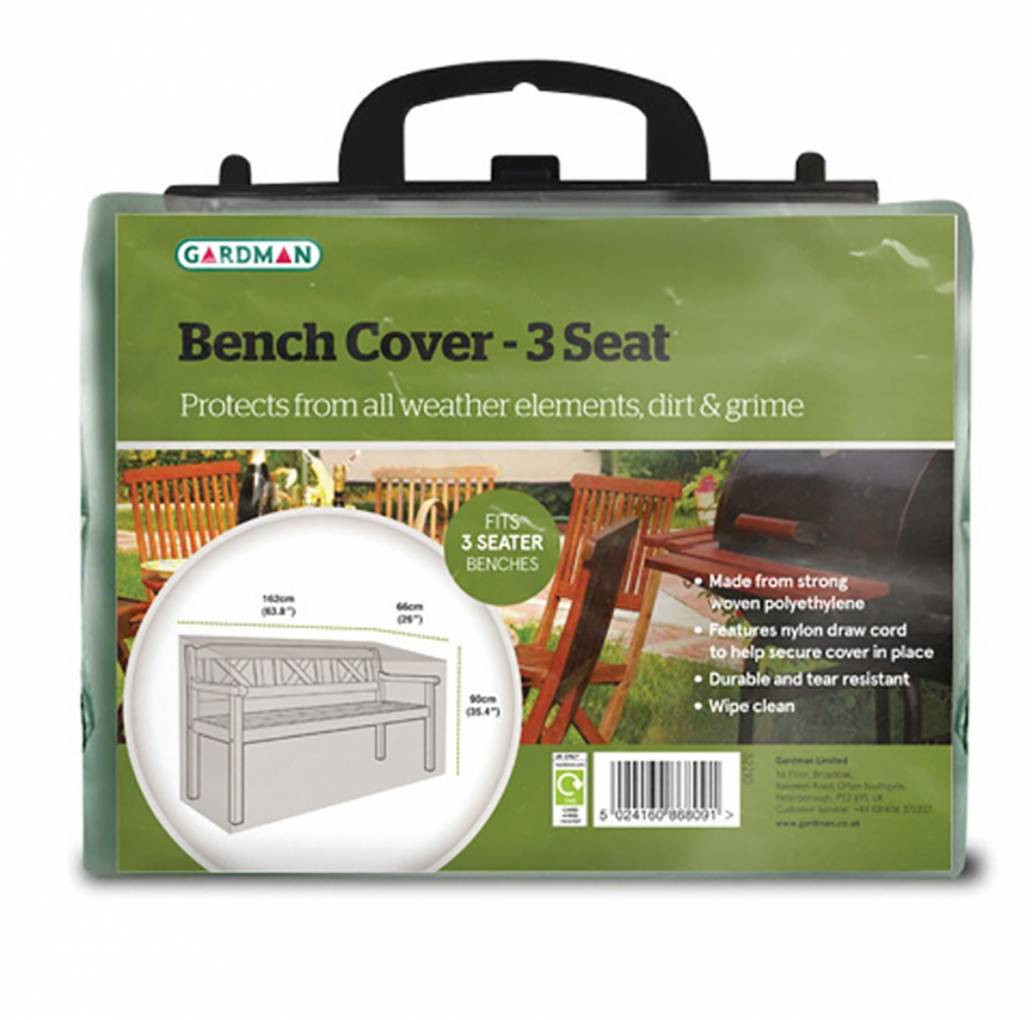 Gardman Bench Cover - 3 Seater  32210