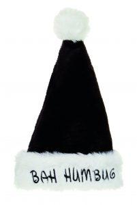 Premier 48cm Deluxe Bah Humbug Hat Black