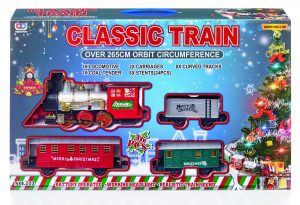 Premier 36pc B-O Train Set On Base with Sound and Light