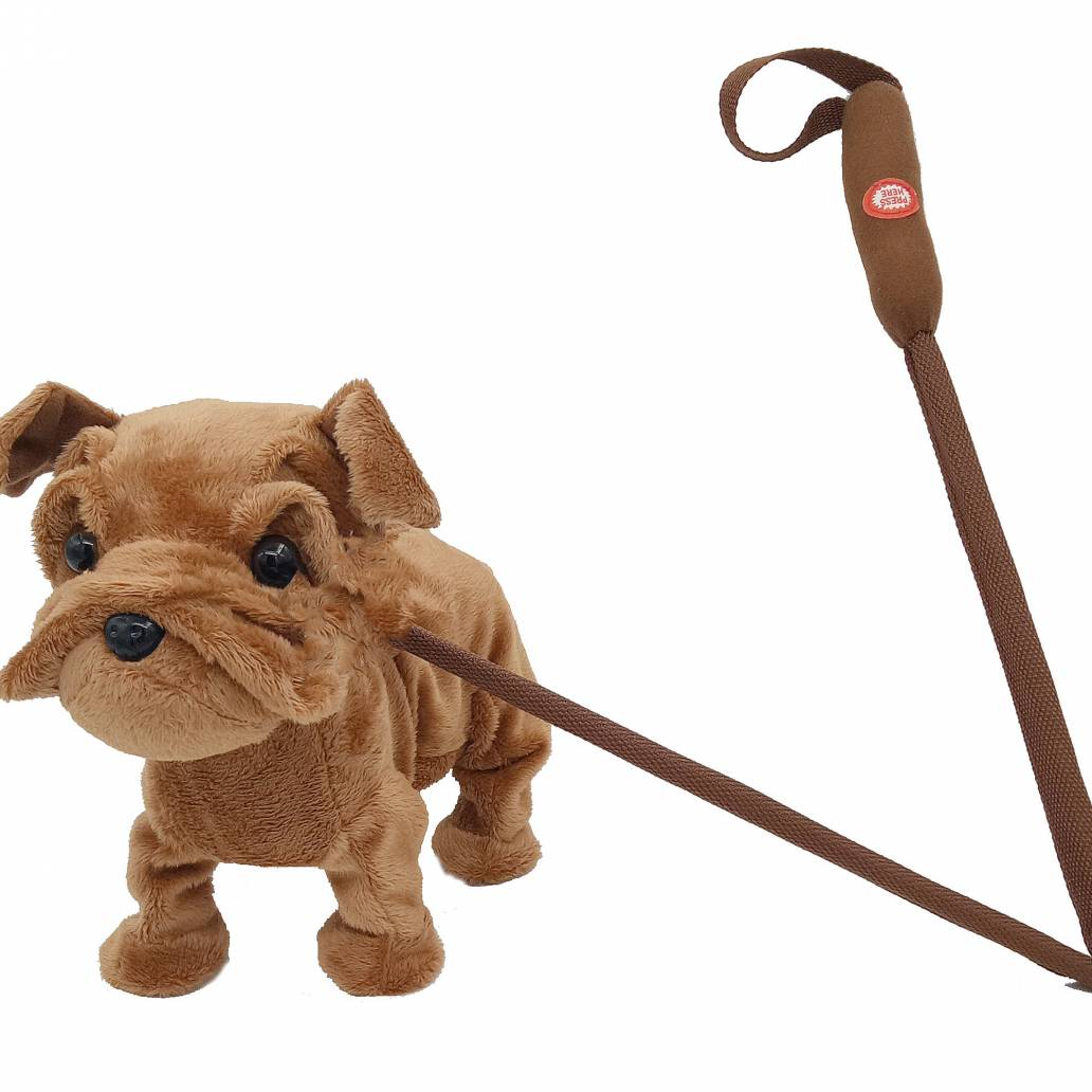 Festive 52cm animated xmas musical walking dog