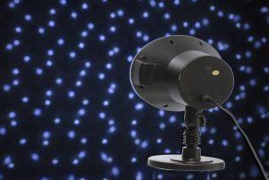 Festive LED Snowfall Light projector