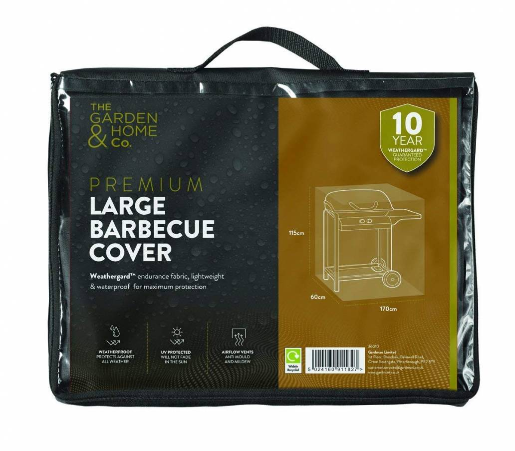Gardman Large Barbecue Cover Black 36010
