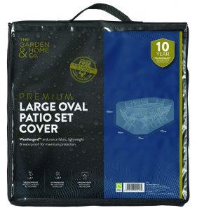 Gardman LGE Oval Set Cover Green 37027