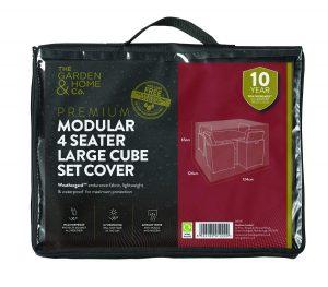 Gardman 4 St Sofa Cube Cover Lrg Green 37030