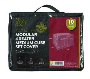 Gardman 4 Seat Med Cube Cover Green 37031