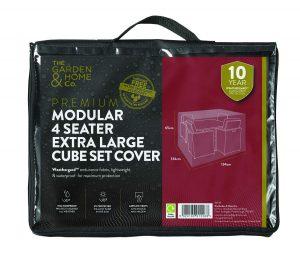 Gardman 4 Seat XL Cube Cover Green 37032