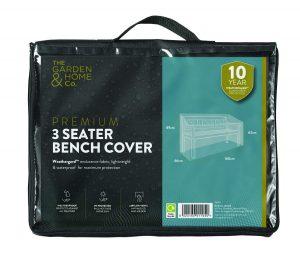 Gardman 3 Seat Bench Cover Grey 38016