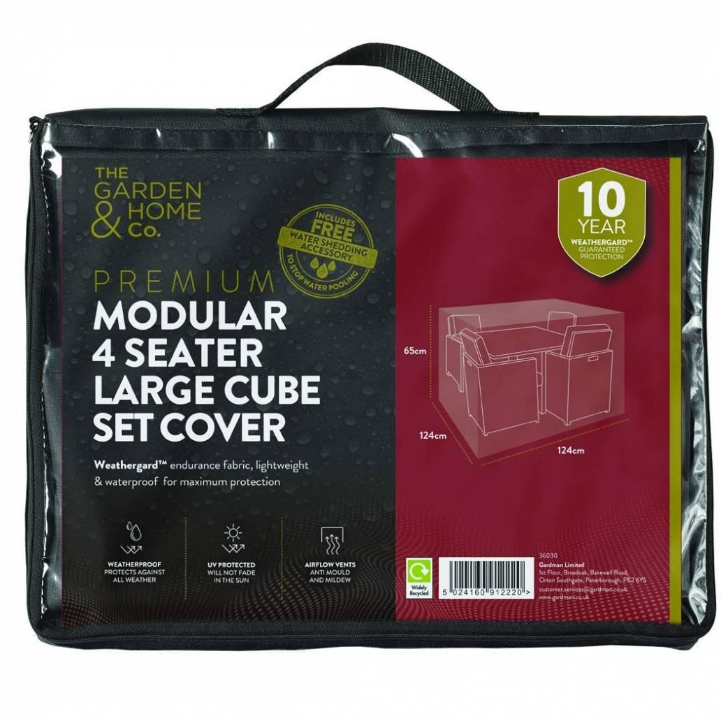 Gardman 4 St Sofa Cube Cover Lge Grey 38030