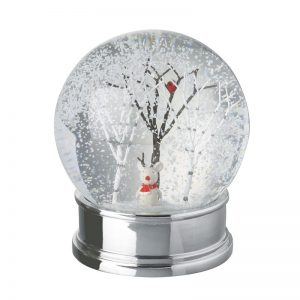 Heaven Sends Snow Globe With Tree And Mouse Inside