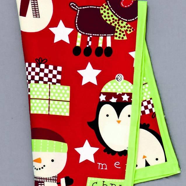 Premier Red 'Merry Christmas' Tea Towel - 38 x 65cm