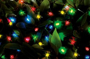 Cole & Bright Solar 100 LED String Lights - Multicoloured