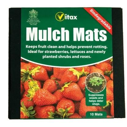 Vitax Mulch Mats - 10pk