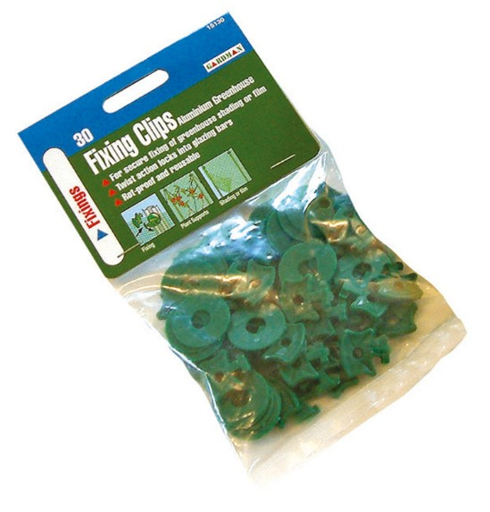 Gardman Greenhouse Fixing Clips (30)
